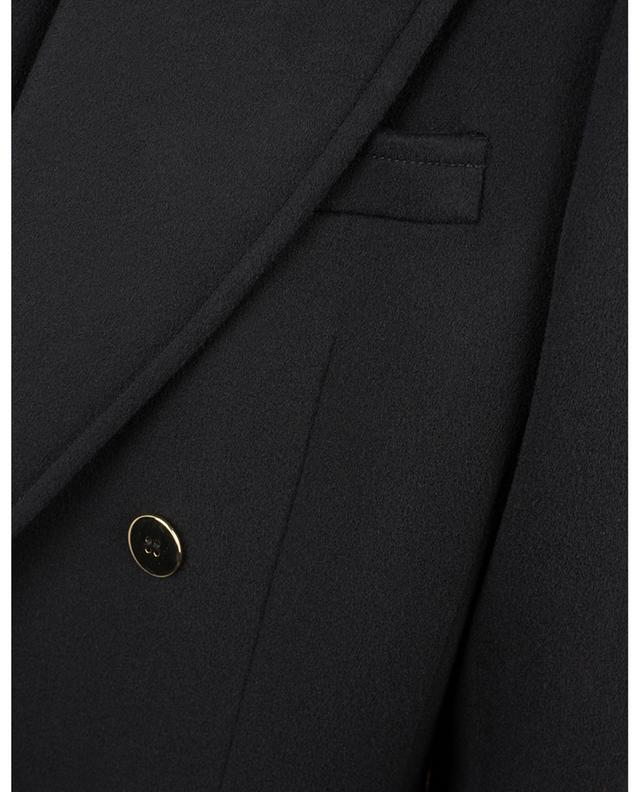 Veste blazer croisée en feutre de laine et de cachemire SAINT LAURENT PARIS