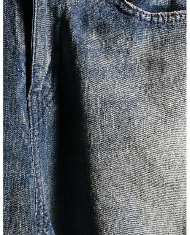 Jean large bleu délavé SAINT LAURENT PARIS
