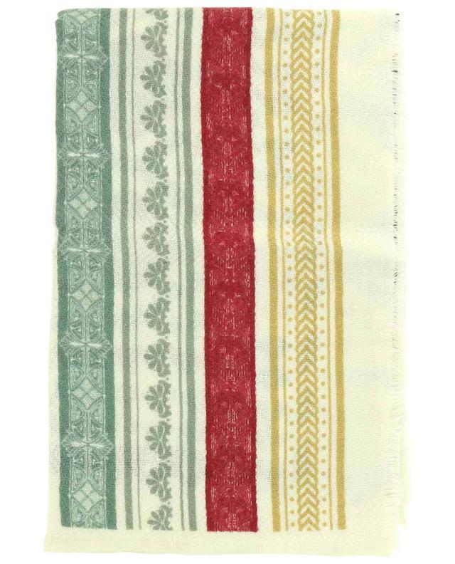 Étole en laine et soie imprimées Color STORIATIPIC