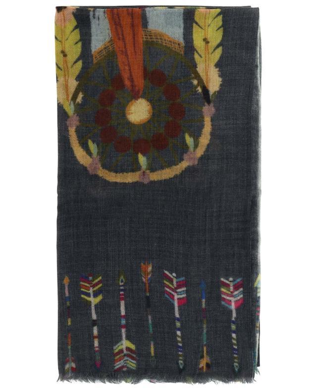 Étole en laine imprimée Rêve STORIATIPIC