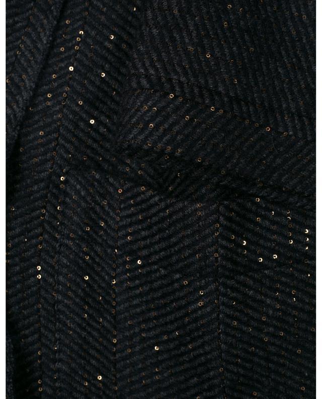 Cardigan en cachemire, alpaga et laine vierge avec ceinture Charlize 19 ANDREA'S 47