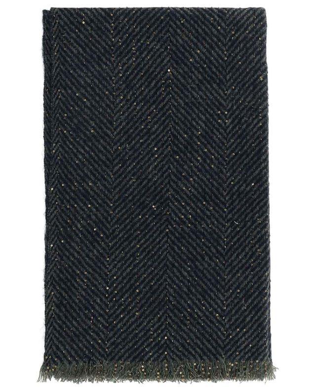 Écharpe à chevrons embellie de sequins Charlize 19 ANDREA'S 47