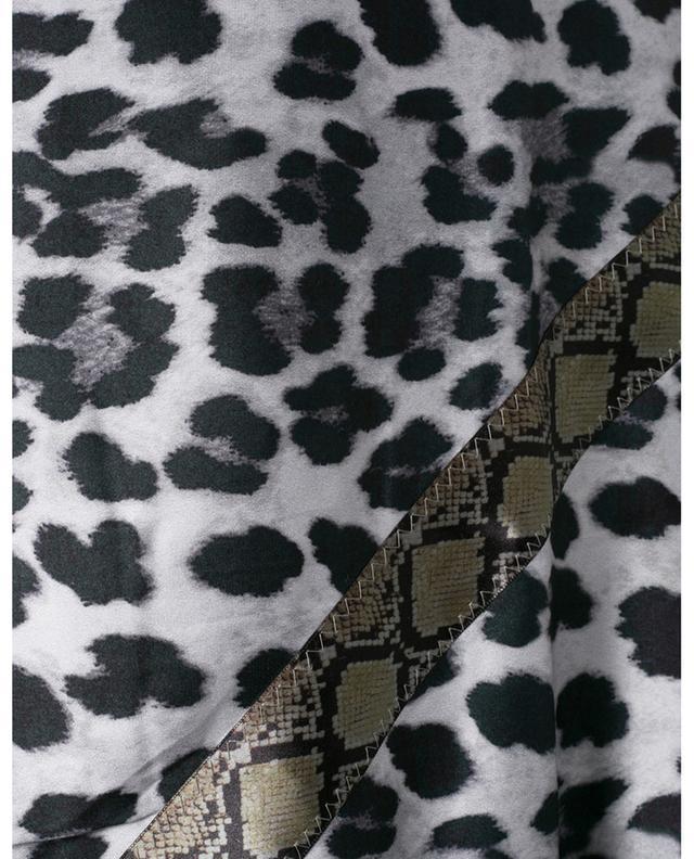 Châle imprimé léopard Leo Snake M EBONY & IVORY