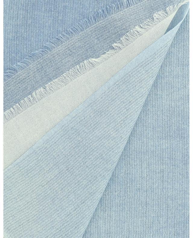 Écharpe bicolore en cachemire et soie à paillettes Glamour 19 ANDREA'S 47