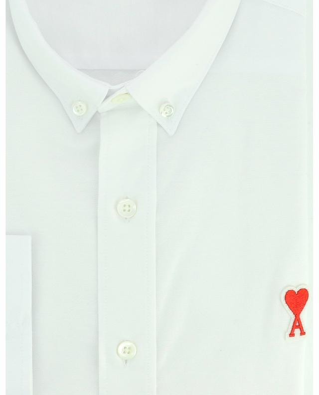 Chemise oxford à col boutonné brodé Ami de Coeur AMI