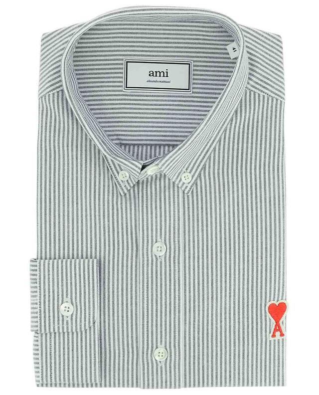 Oxford-Hemd Ami de Coeur Pinstripe AMI