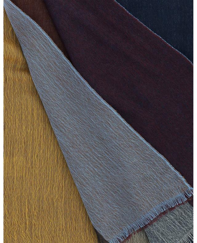 Écharpe colour block en cachemire tissé Jack 19 ANDREA'S 47