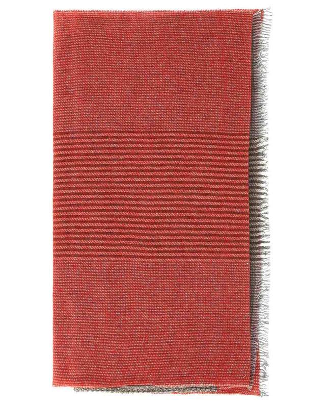 Écharpe en cachemire motif prince-de-galles William 19 ANDREA'S 47