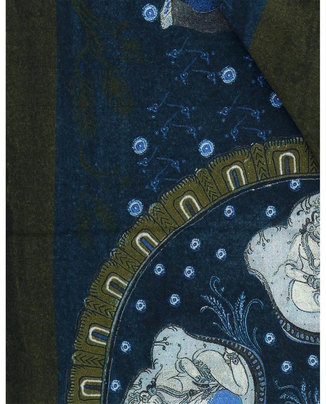 Écharpe en cachemire motifs orientaux Kama 19 ANDREA'S 47