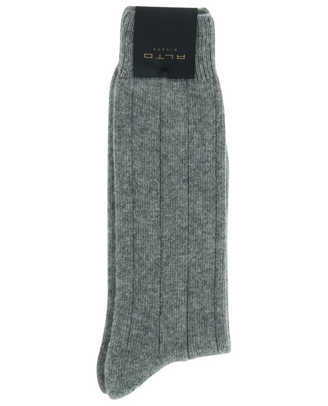 Épaisses chaussettes en laine vierge et cachemire mélangés ALTO