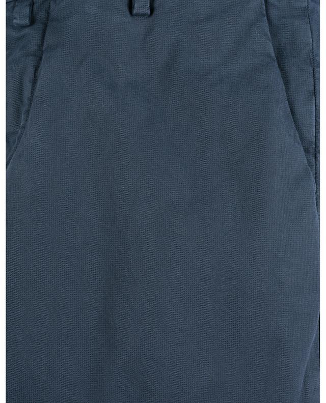 Pantalon chino slim en gabardine imprimé pois B SETTECENTO