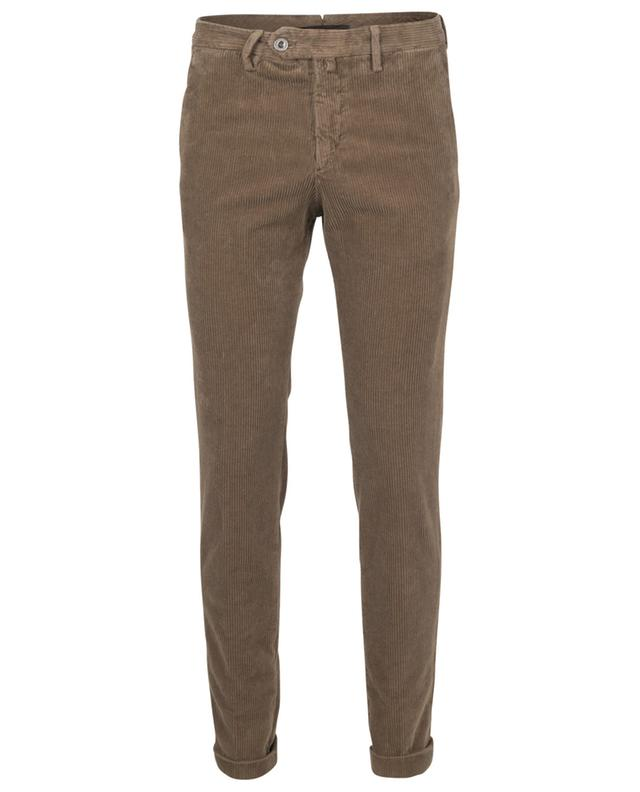 Pantalon skinny en velours côtelé B SETTECENTO