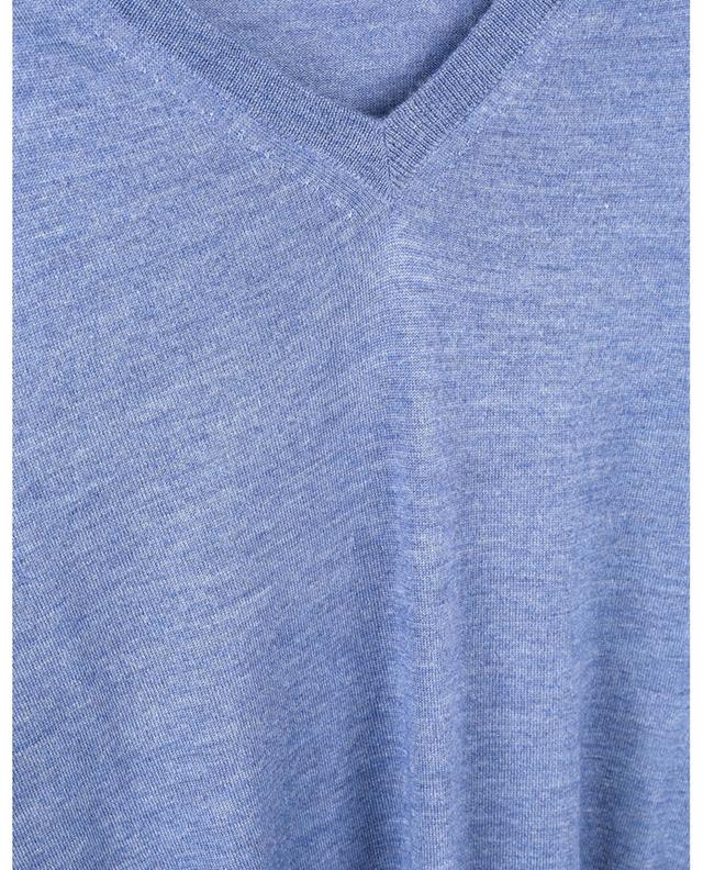 Thin cashmere and silk V-neck jumper CRUCIANI