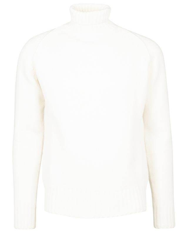 Turtleneck jumper in wool and cashmere CRUCIANI