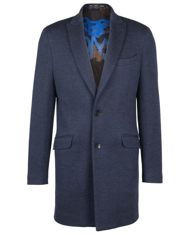 Manteau en laine chinée ETRO