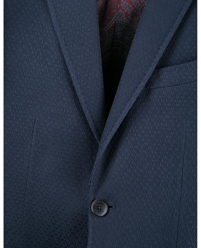 Blazer en coton texturé ETRO