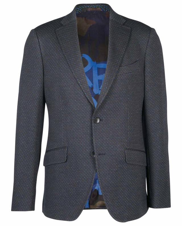Blazer en laine et coton mélangés ETRO