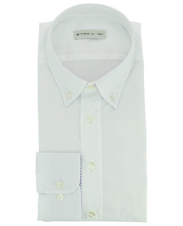 Einfarbiges Hemd aus Baumwolle ETRO