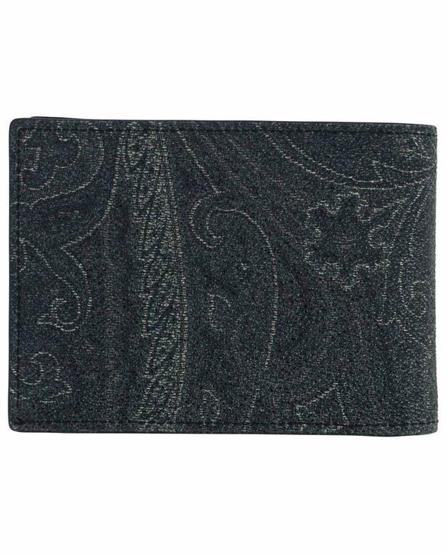 Porte-monnaie en coton mélangé imprimé Paisley ETRO
