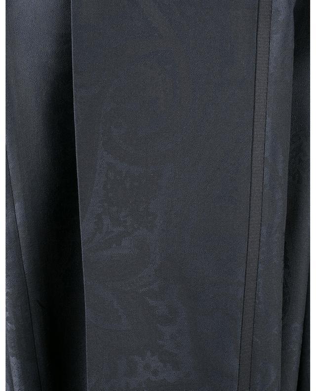 Pantalon texturé Paisley en laine ETRO