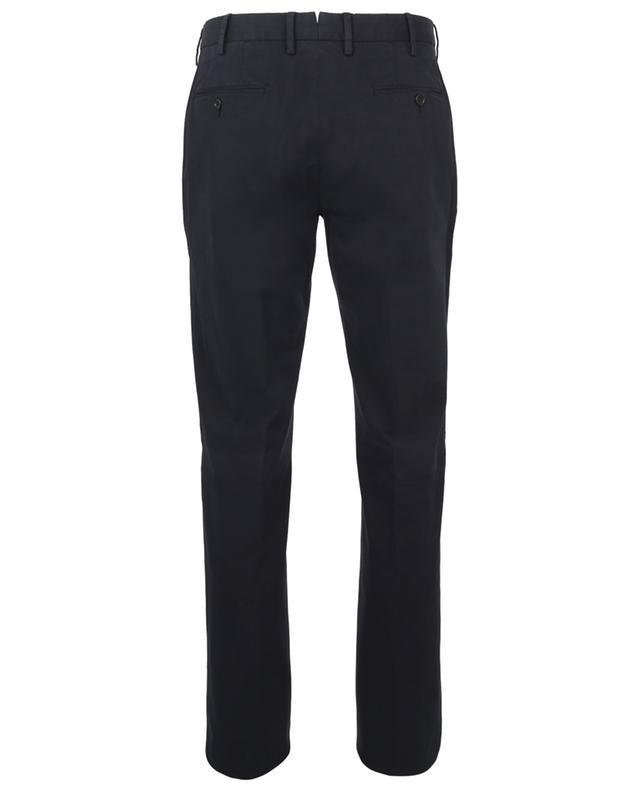 Pantalon chino droit en sergé de coton et lyocell ERMENEGILDO ZEGNA