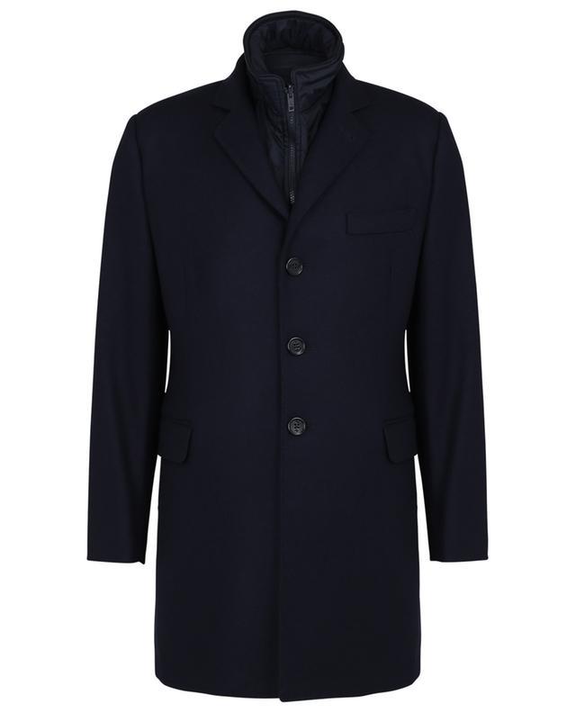 Manteau en laine avec gilet amovible FAY