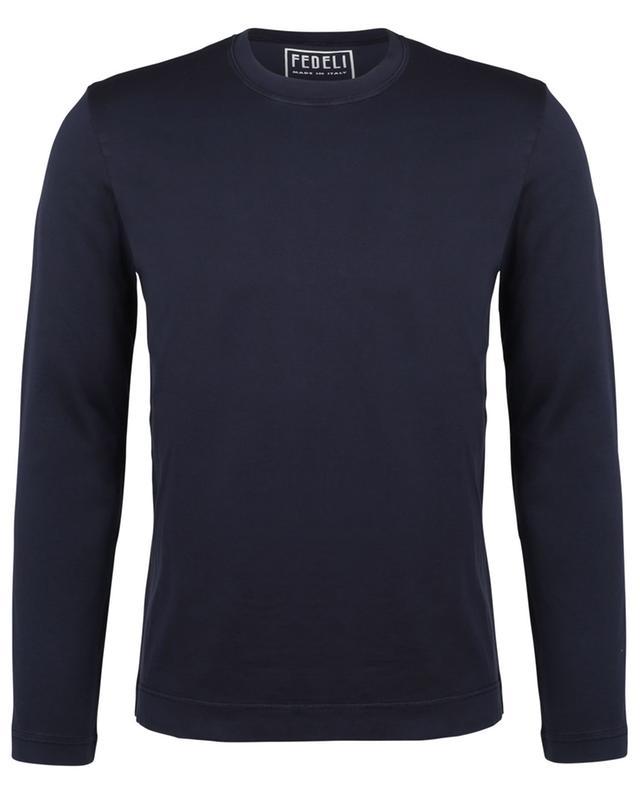 T-shirt à manches longues en coton Extreme FEDELI