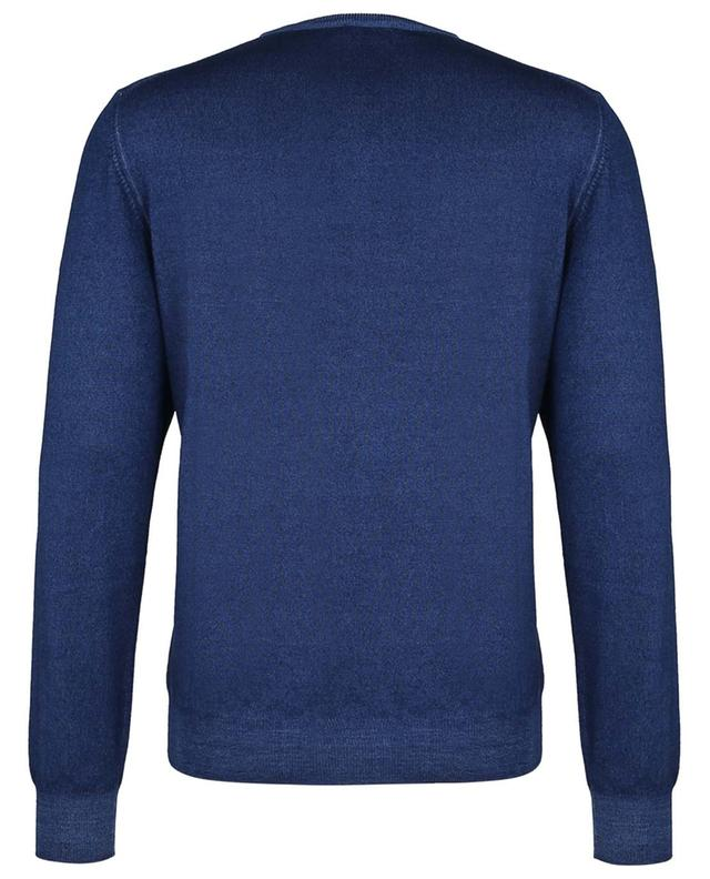 Pull fin col rond en laine vierge GRAN SASSO