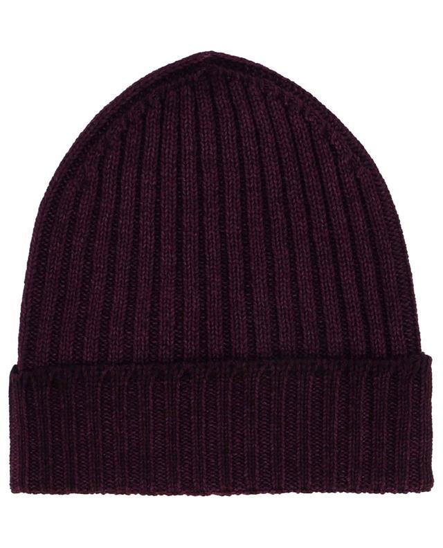 Bonnet côtelé en laine vierge GRAN SASSO