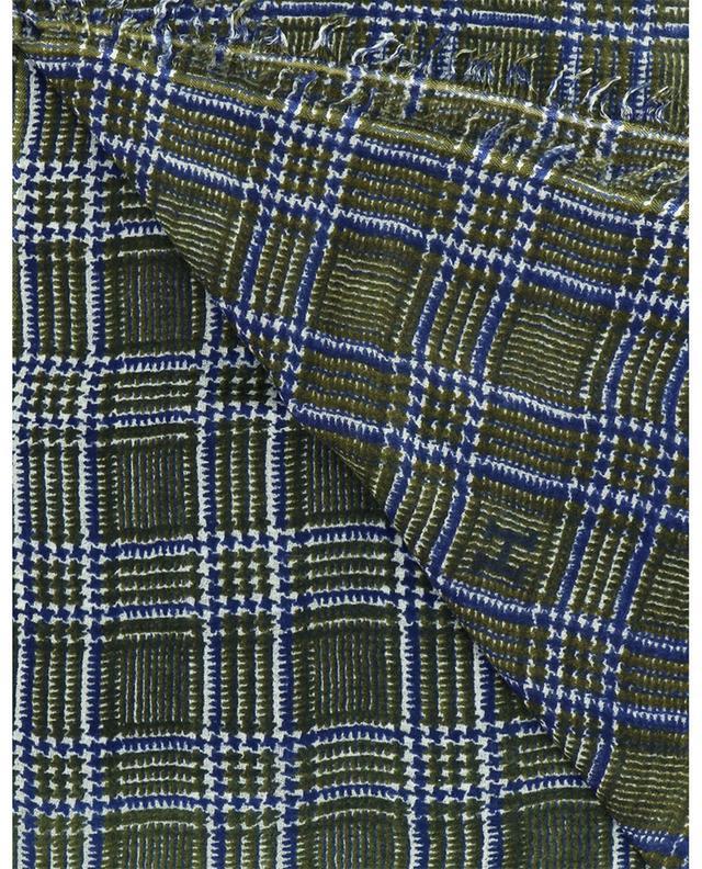 Écharpe à carreaux en laine Pcolcheck-BWB HEMISPHERE