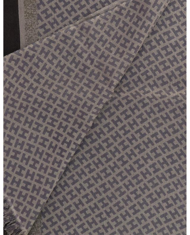 Écharpe monogrammée à rayures Tagbimedium-BCS HEMISPHERE