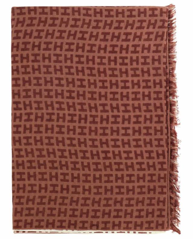 Écharpe monogramme à dégradé de couleur Radeombre BCS HEMISPHERE