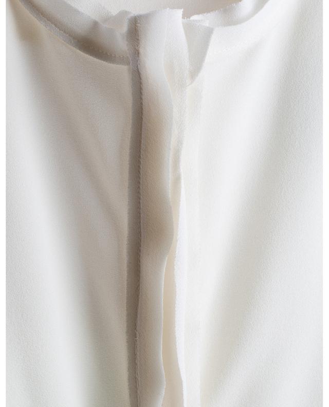 Chemisier à manches longues en soie ARTIGIANO