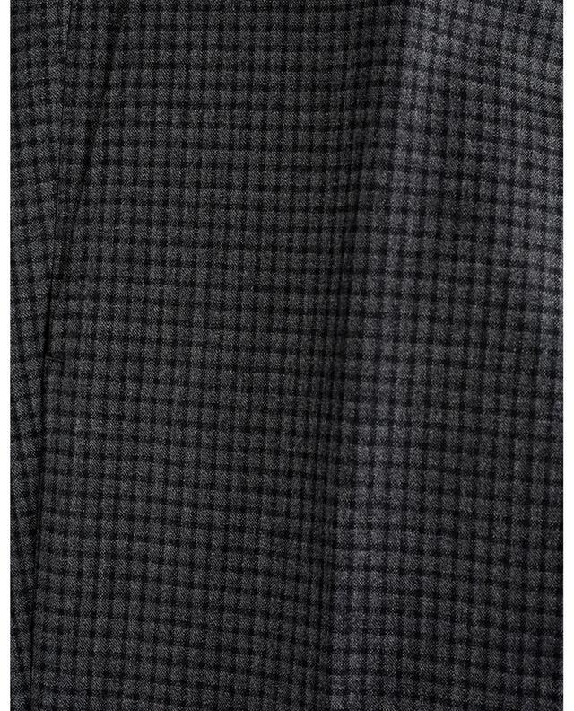 Pantalon à carreaux en laine Maiori MARCO PESCAROLO