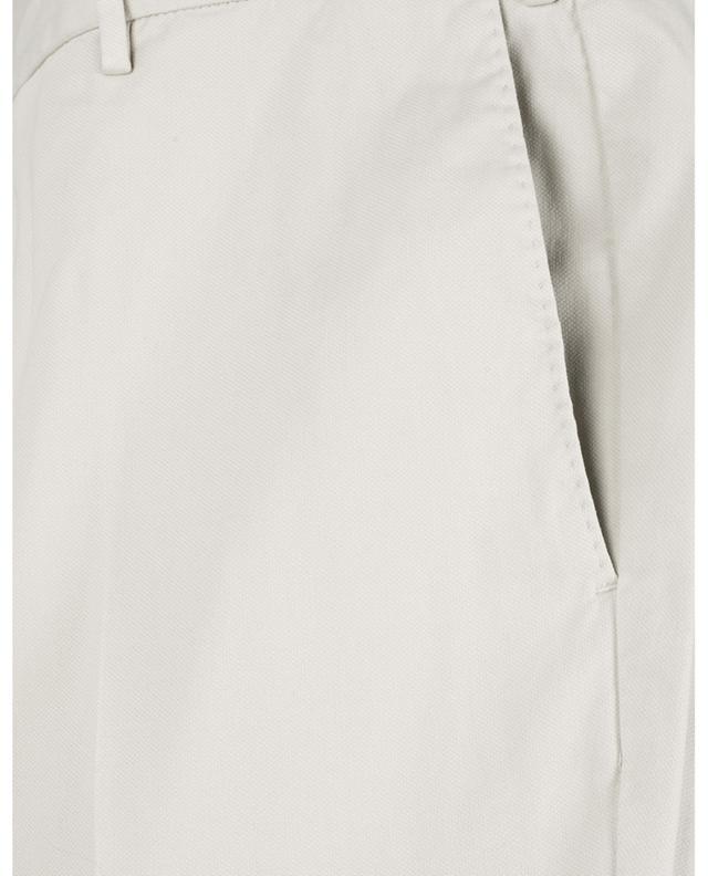 Pantalon texturé en coton et modal Superslim Fit PT TORINO