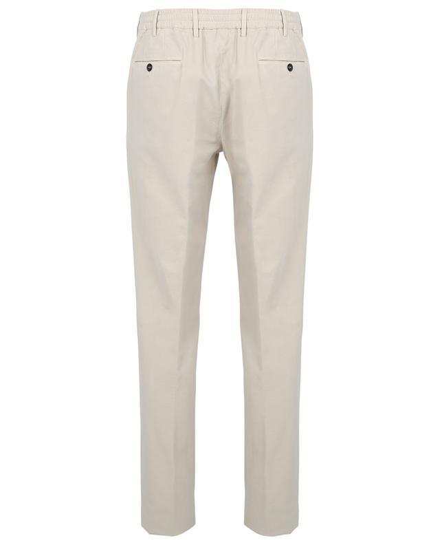 Pantalon slim en coton et cachemire PT TORINO