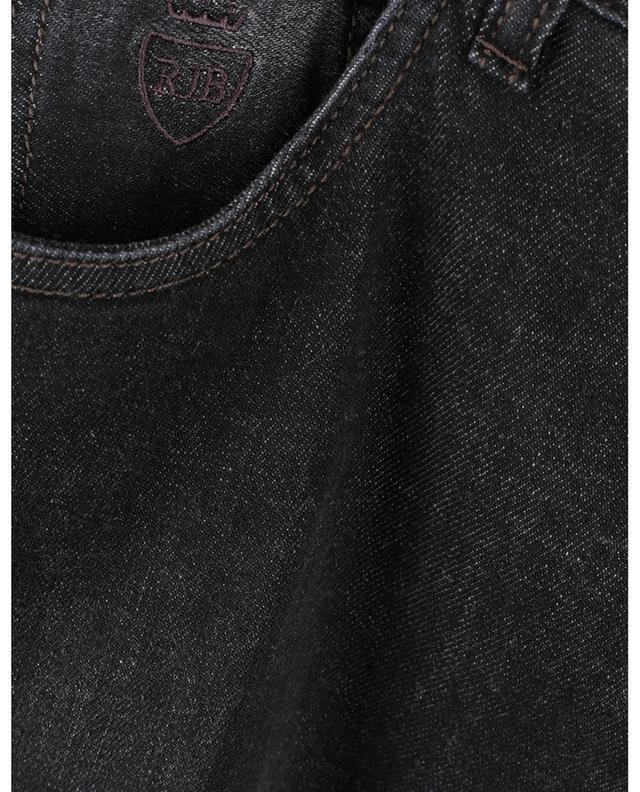Jean slim noir délavé en Luxury Cashmere Denim Tokyo RICHARD J. BROWN