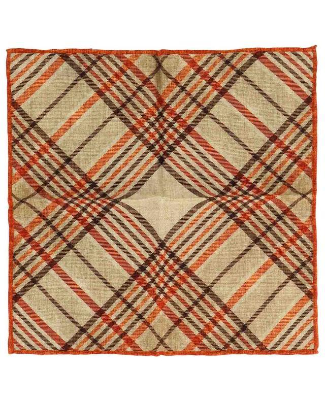 Pochette à carreaux en laine Will ROSI COLLECTION