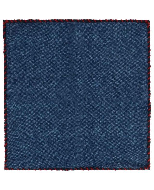 Pochette en laine brodée Wool ROSI COLLECTION