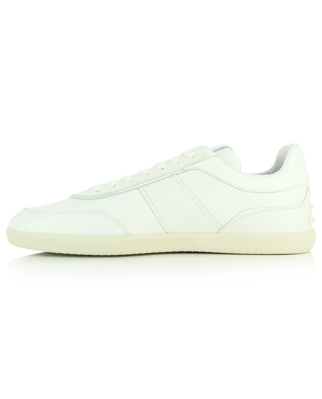 Baskets blanches basses en cuir TOD'S