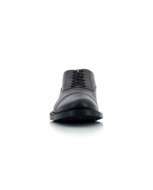 Chaussures à lacets en cuir lisse Francesina TOD'S