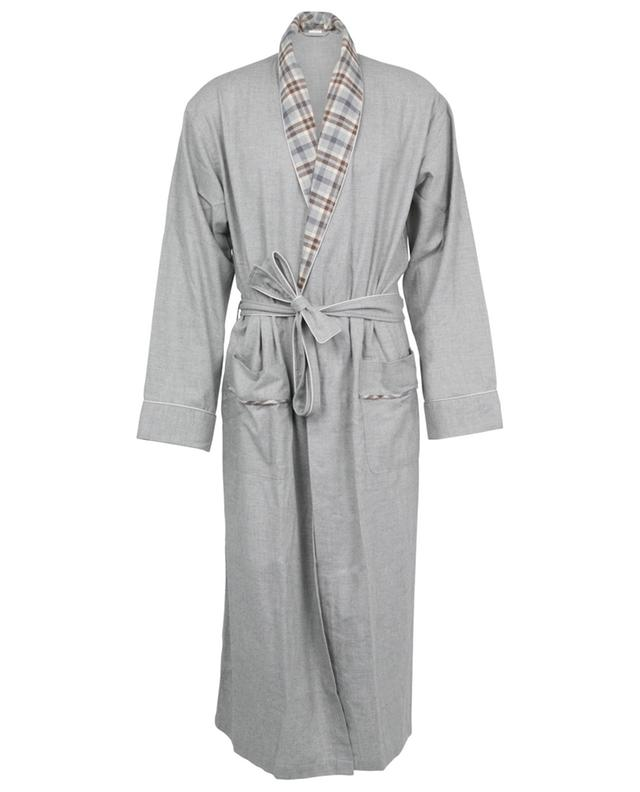 Peignoir en coton et laine avec ceinture ZIMMERLI