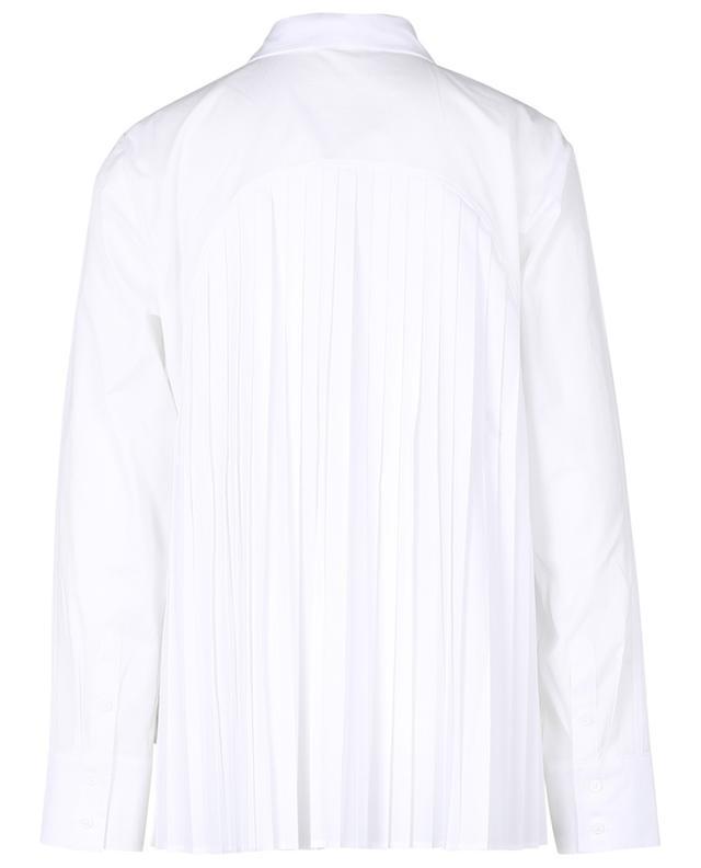 Chemise en coton avec détails plissés Zaven HANA SAN