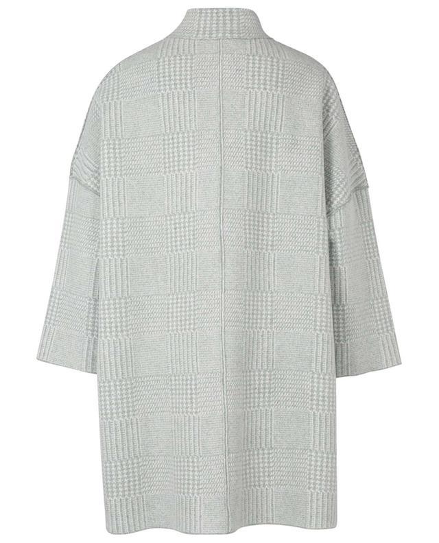 Manteau à manches courtes en cachemire réversible LUNARIA CASHMERE