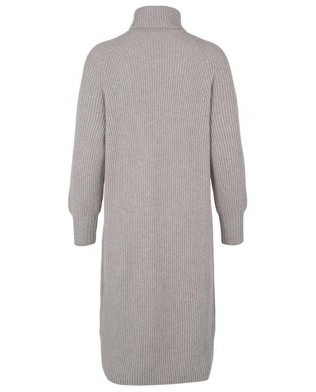 Robe pull courte en cachemire à col roulé Antares FEDELI