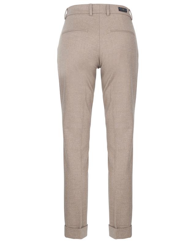 Pantalon slim en flanelle de laine Isabell PAMELA HENSON