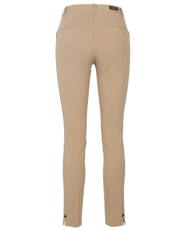 Pantalon skinny en gabardine toucher velours Ellen PAMELA HENSON