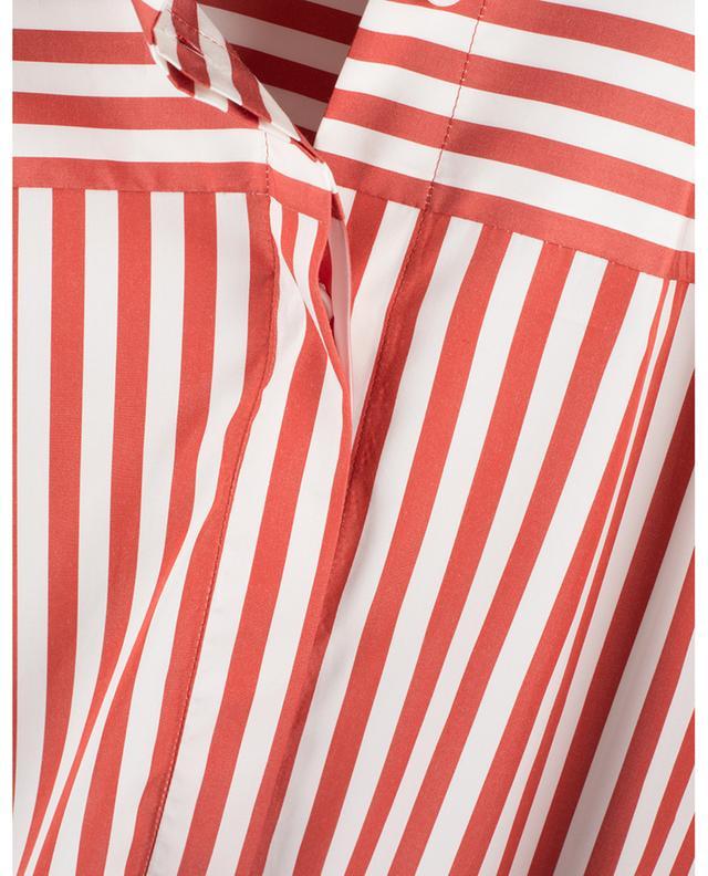 Chemise large à manches courtes et rayures AKRIS PUNTO