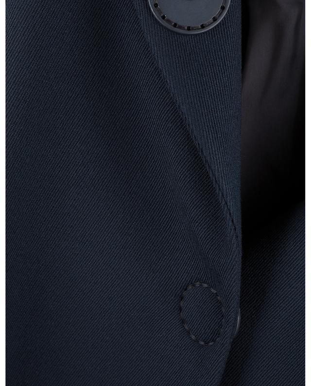 Manteau court en laine vierge manches trois-quarts AKRIS PUNTO