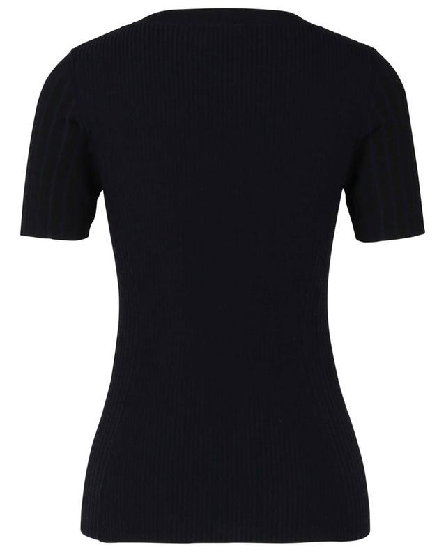 T-shirt ajusté en laine AKRIS PUNTO